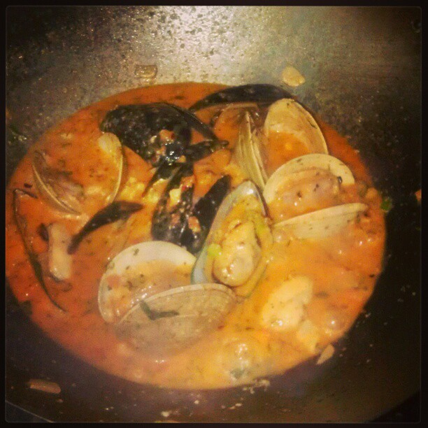 Mussels &amp; clams. - from Instagram
