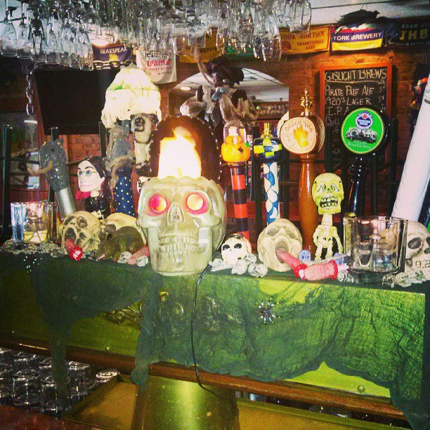 What's on tap. Happy Halloween kids. - from Instagram