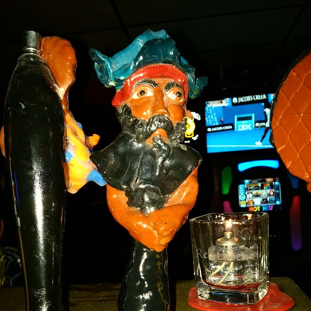 Pirate Pale Ale back on draft. 5.9 abv...... Come and get it... #Setonhall - from Instagram