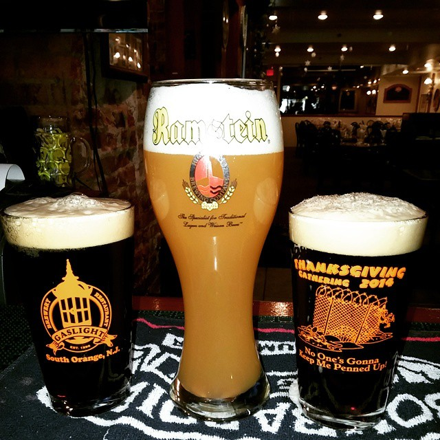 One Ramstein Blonde joined by two Prince of Darkness...... Watch out.. @ramsteinbrewhaus - from Instagram