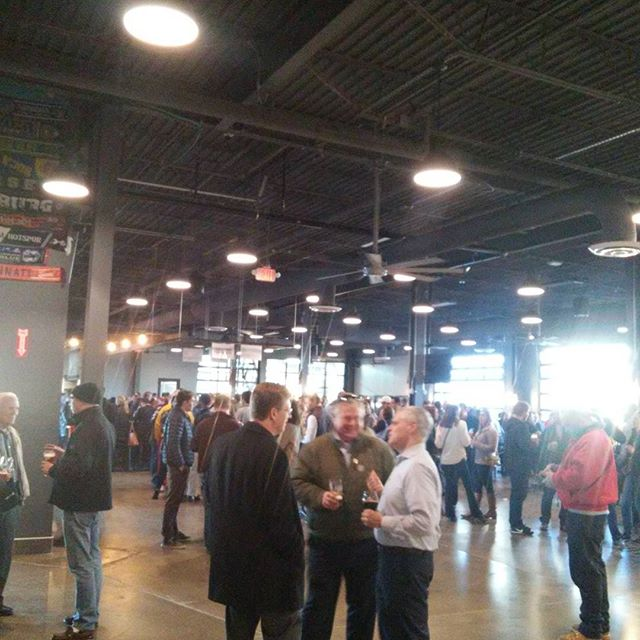 #madtreebrewing big nice place. Time for a beer. - from Instagram