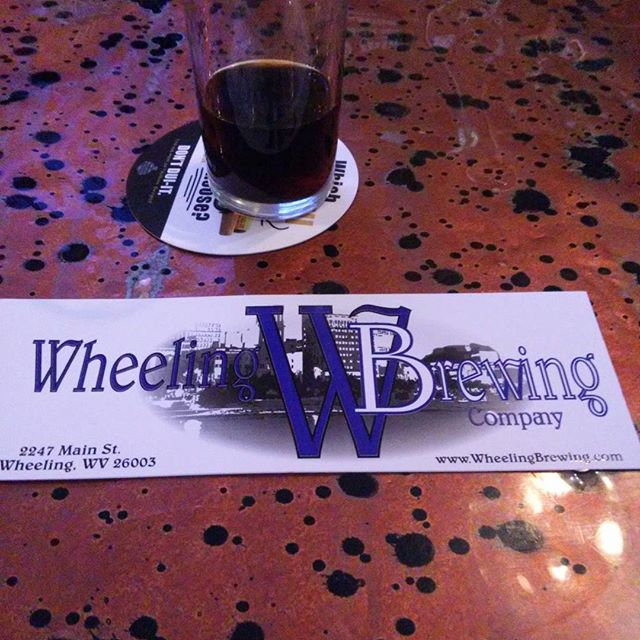 Having some tasty food and great beer at #wheelingbrewingcompany - from Instagram