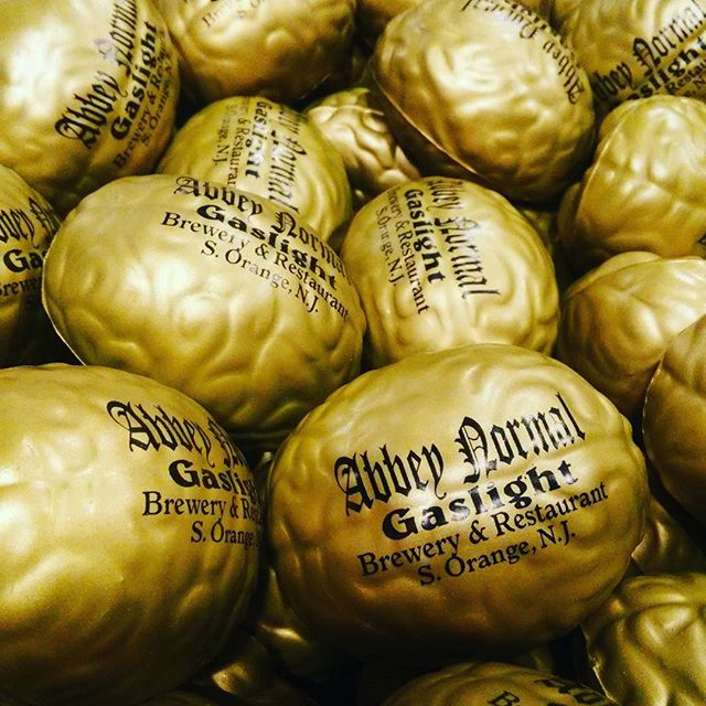 #BRAINS are here! Getting ready for the #abbeynormal release party this Saturday May 20th #ACBW #AmericanCraftBeerWeek #YoungFrankenstein on the big screen and giveaways. - from Instagram