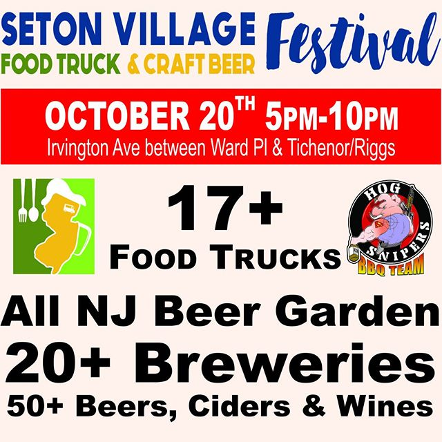 Less than a week away. Buy your drink tickets ahead of time at Gaslight Brewery & Restaurant and avoid the lines.Looking like GREAT weather.#foodtruck #Craftbeer #beer #setonvillage #southorange #newjersey #jerseystrong #bbq #bolerosnort #brixcity #brothertonbrewingcompany #crickethill #cypressbrewingco #dementedbrewing #departedsoles #flyingfishbrewery #forgottenboardwalk #jerseygirlbrewing #kanebrewing #littledogbrewing #njbeer #njbeerco #pinelandbrewingcompany #ramsteinbeer #riverhorsebrewery #alementary #three3sbrewing #tomfoolerybrew #gaslightbrewery - from Instagram